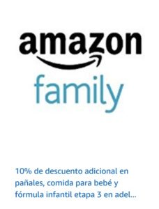 Amazon Oferta Pañales, Foruma Infantil y Más