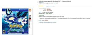 Amazon Oferta Pokemon Alpha Sapphire