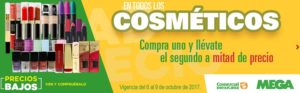 Comercial Mexicana Oferta Cosméticos Octubre 6