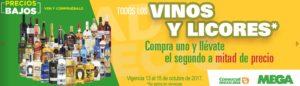 Comercial Mexicana Oferta Vinos y Licores Octubre 13