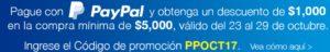 Costco Promoción PayPal Octubre 23