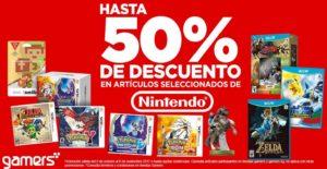Gamers Oferta Nintendo Octubre 6
