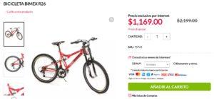 Office Depot Oferta Bicicleta Bimex