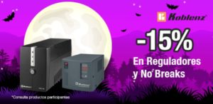 OfficeMax Oferta Reguladores y No Breaks Koblenz