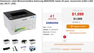PC en Línea Oferta Impresora Samsung