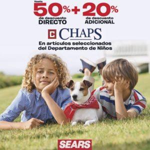 Sears Oferta Chaps Niños