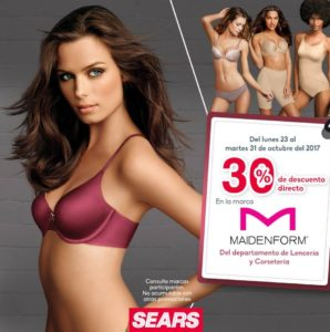 Sears Oferta Maidenform