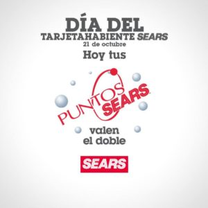 Sears Promoción Puntos Dobles