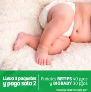 Soriana Oferta de Pañales BBTIPS y BIOBABY
