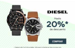 Soriana Oferta de Relojes Diesel
