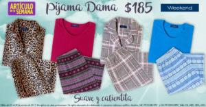 Suburbia Oferta Pijama Weekend para Dama