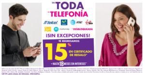 Suburbia Oferta Telefonía Celular Octubre 14