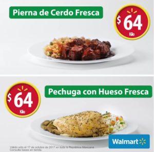 Walmart Ofertas Martes de Frescura Octubre 17