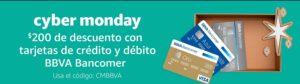 Amazon Cyber Monday con Bancomer