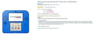 Amazon Oferta Nintendo 2DS