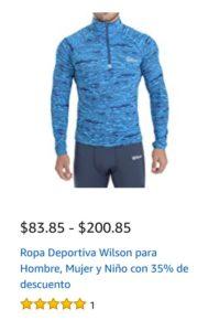 Amazon Oferta Ropa Deportiva Wilson