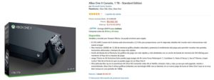 Amazon Oferta Xbox One X