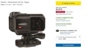 Best Buy Oferta Videocámara Virb Xe