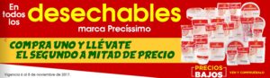 Comercial Mexicana Oferta Desechables Precíssimo