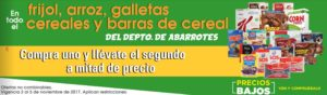 Comercial Mexicana Oferta Frijol, Arroz, Cereales y Más