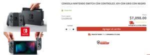 Elektra Oferta Consola Nintendo Switch
