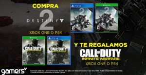 Gamers Oferta Destiniy 2