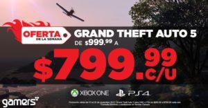 Gamers Oferta GTA V Noviembre 13