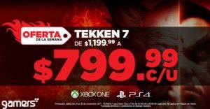 Gamers Ofertas Tekken 7 para PS4 o Xbox One