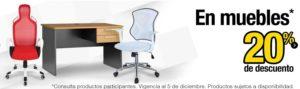 OfficeMax Oferta Muebles Noviembre 28