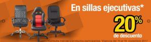 OfficeMax Oferta Sillas Ejecutivas