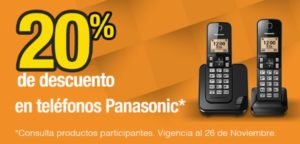 OfficeMax Oferta de Teléfonos Panasonic