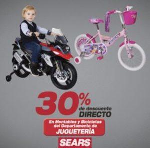 Sears Oferta Montables y Bicicletas