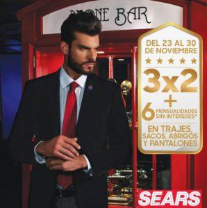 Sears Oferta de Trajes, Sacos, Abrigos y Pantalones Noviembre 23