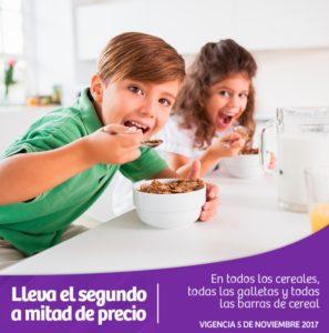 Soriana Oferta de Galletas, Cereales y Barras de Cereal