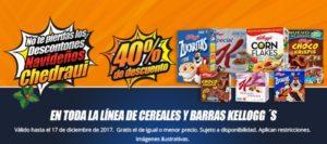 Chedraui Oferta Cereales y Barras