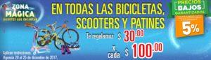 Comercial Mexicana Oferta Bicicletas, Scooters y Patines