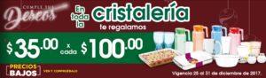 Comercial Mexicana Oferta Cristalería