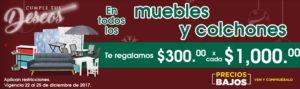 Comercial Mexicana Oferta Muebles, Colchones y Más