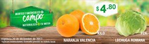Comercial Mexicana Ofertas Martes y Miércoles del Campo Diciembre 19