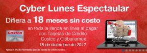 Costco Cyber Lunes Banamex Diciembre 18