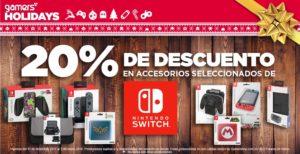 Gamers Oferta Accesorios Seleccionados Nintendo Switch