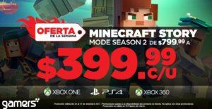 Gamers Oferta Minecraft Story Mode Season 2