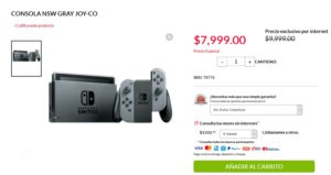 Office Depot Oferta Nintendo Switch