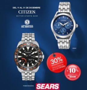 Sears Oferat de Relojes Citizen