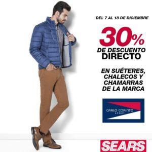 Sears Oferta Suéteres, Chaleco sy Chamarras Carlos Corinto