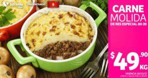 Soriana Oferta Carne Molida Diciembre 20