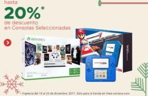 Soriana Oferta Consola de Videojuegos