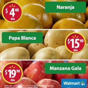 Walmart Ofertas Martes de Frescura Diciembre 5