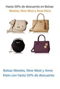 Amazon Oferta Bolsas Westies, Nine West y Anne Klein