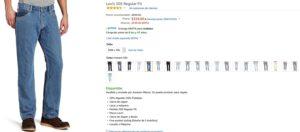 Amazon Oferta Jeans Levi's